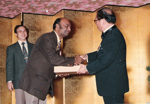 """Acupuncture - its Origin in India"" - Best paper award, at 4th ICOM, Kyoto, Japan 1985"