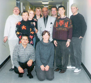 With some 1999-2000 students in Langara College, Vancouver